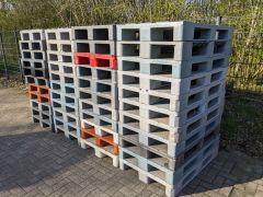 Kunststof pallets, euroformaat, gesloten bovendek
