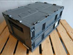 Schäfer FKE-D 6285-4 vouwbakken met deksels, partijvoordeel