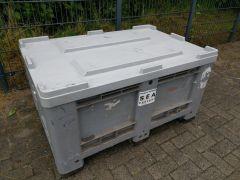 Capp Plast palletbox met deksel